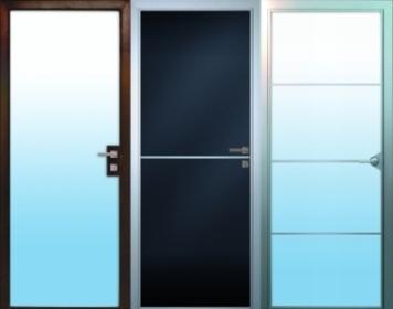 Межкомнатные распашные двери Серии 80.