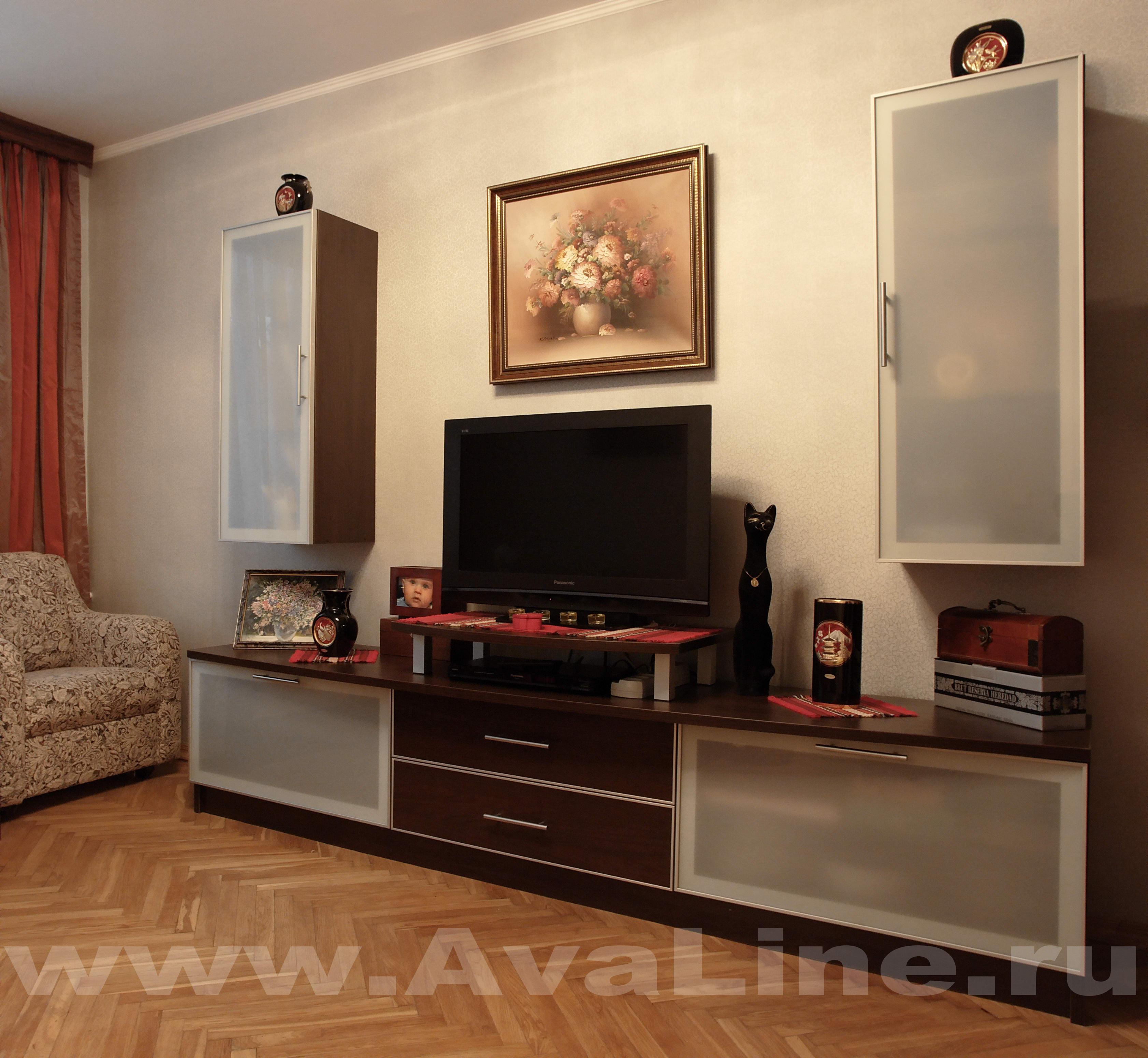 корпусная мебель для гостиной на заказ г москва