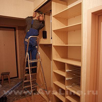 Как починить шкаф купе