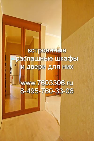 двери распашные для встроенного в нишу шкафа