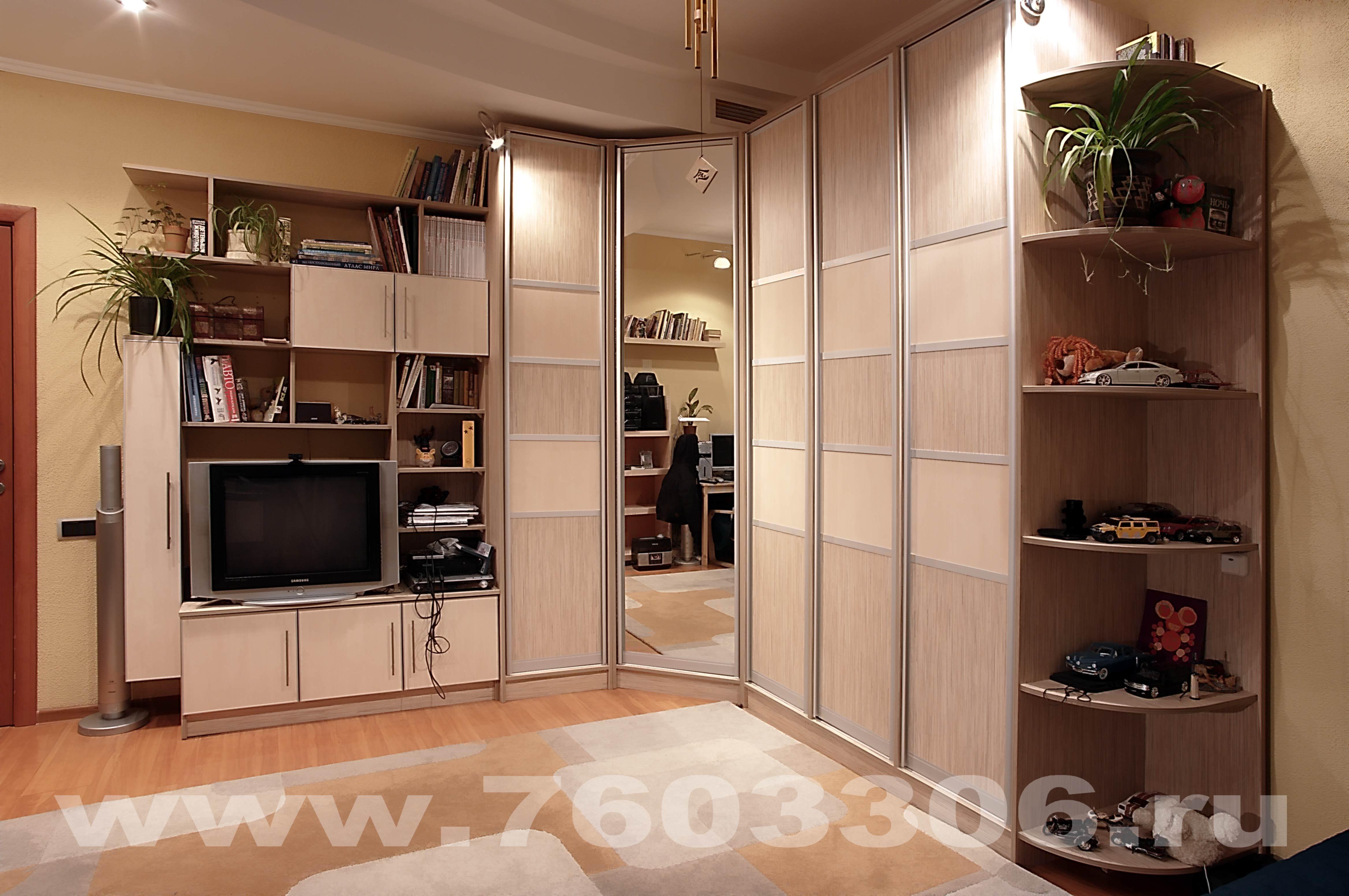Neo pics фото: угловой шкаф купе мебель интерьер.